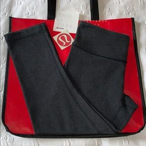 lululemon Wunder Under Crops EUC *Gift W/Purchase